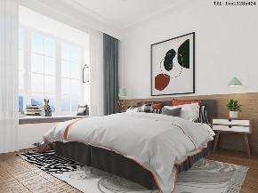 三居 北欧 旧房改造 卧室图片来自小薛15513285424在【旧房改造】北欧风的分享