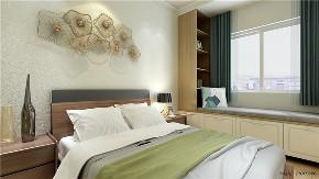 欧式 二居 白领 收纳 旧房改造 80后 小资 卧室图片来自今朝小伟在天通苑东二区北欧装修效果图的分享