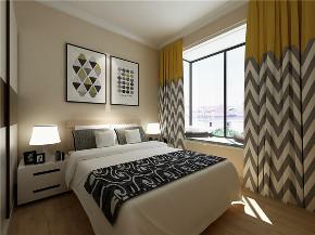 欧式 二居 白领 收纳 旧房改造 80后 小资 卧室图片来自今朝小伟在红福苑北欧装修效果图的分享