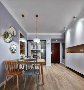 欧式 二居 白领 收纳 旧房改造 80后 小资 餐厅图片来自今朝小伟在灰色北欧式风格的分享