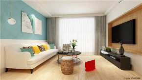 欧式 二居 白领 收纳 旧房改造 80后 小资 客厅图片来自今朝小伟在天通苑东二区北欧装修效果图的分享