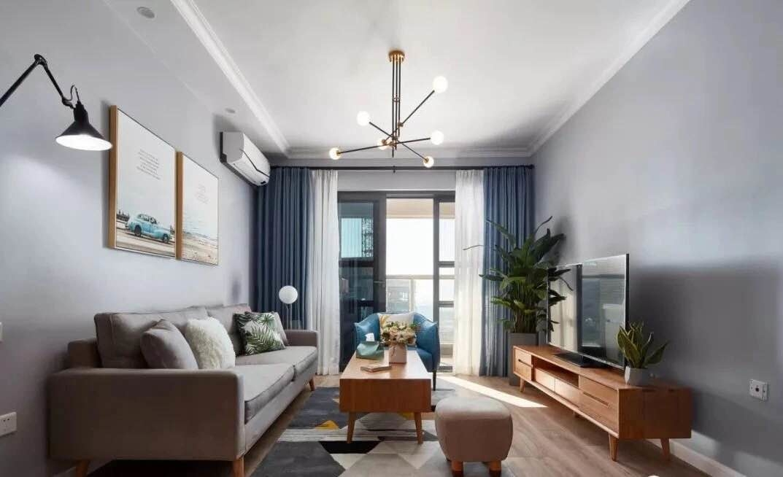 欧式 二居 白领 收纳 旧房改造 80后 小资 客厅图片来自今朝小伟在灰色北欧式风格的分享