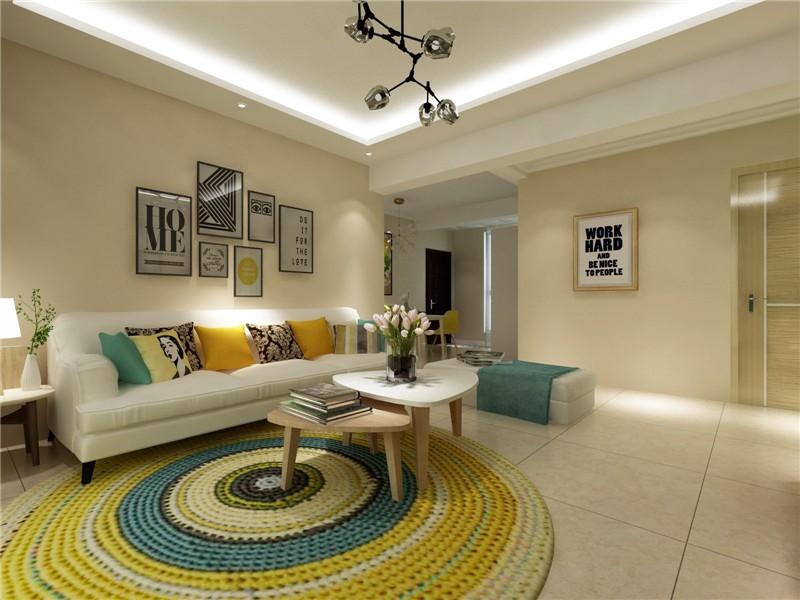 欧式 二居 白领 收纳 旧房改造 80后 小资 客厅图片来自今朝小伟在红福苑北欧装修效果图的分享
