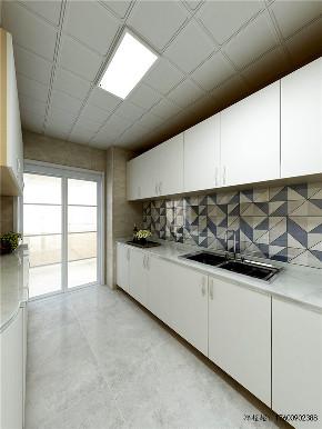 欧式 二居 白领 收纳 旧房改造 80后 小资 厨房图片来自今朝小伟在天通苑东二区北欧装修效果图的分享