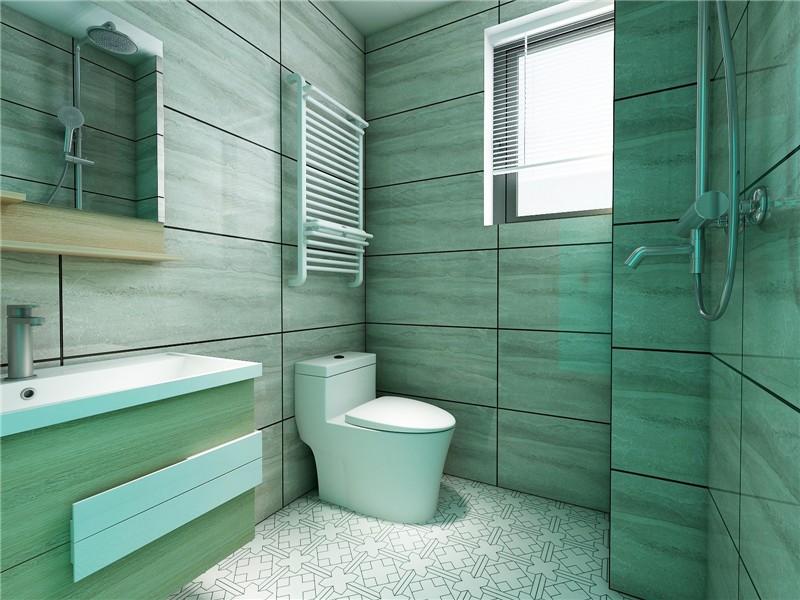 欧式 二居 白领 收纳 旧房改造 80后 小资 卫生间图片来自今朝小伟在红福苑北欧装修效果图的分享