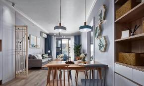 欧式 二居 白领 收纳 旧房改造 80后 小资 餐厅图片来自今朝小伟在龙湖两江星辰,灰色北欧式风格的分享