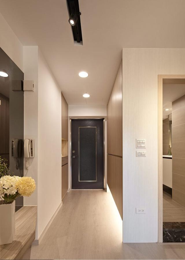 简约 二居 白领 收纳 旧房改造 80后 小资 玄关图片来自今朝小伟在温暖87平米新家的分享