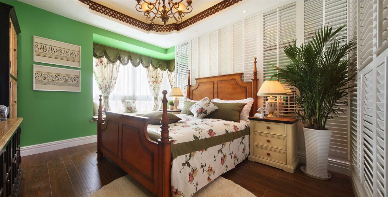 田园 二居 白领 收纳 旧房改造 80后 小资 卧室图片来自今朝小伟在温馨甜美的田园风格案例的分享