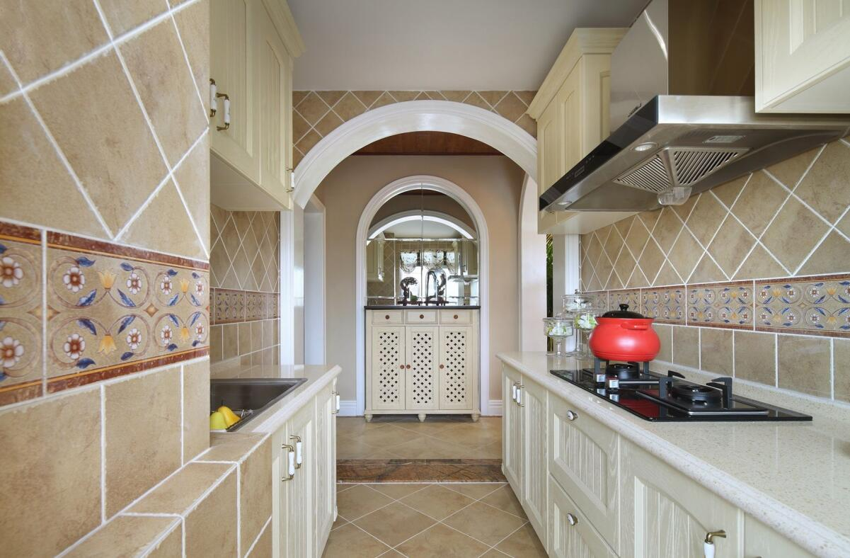 田园 二居 白领 收纳 旧房改造 80后 小资 厨房图片来自今朝小伟在温馨甜美的田园风格案例的分享