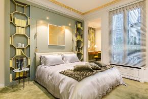 混搭 二居 白领 收纳 旧房改造 80后 小资 卧室图片来自今朝小伟在时尚前沿大胆撞色设计-摩登之家的分享
