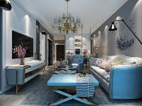 二居 美式 客厅图片来自小薛15513285424在美式风格的分享