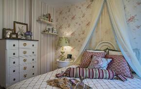 田园 二居 白领 收纳 旧房改造 80后 小资 卧室图片来自今朝小伟在温馨舒适的欧式田园风格的分享