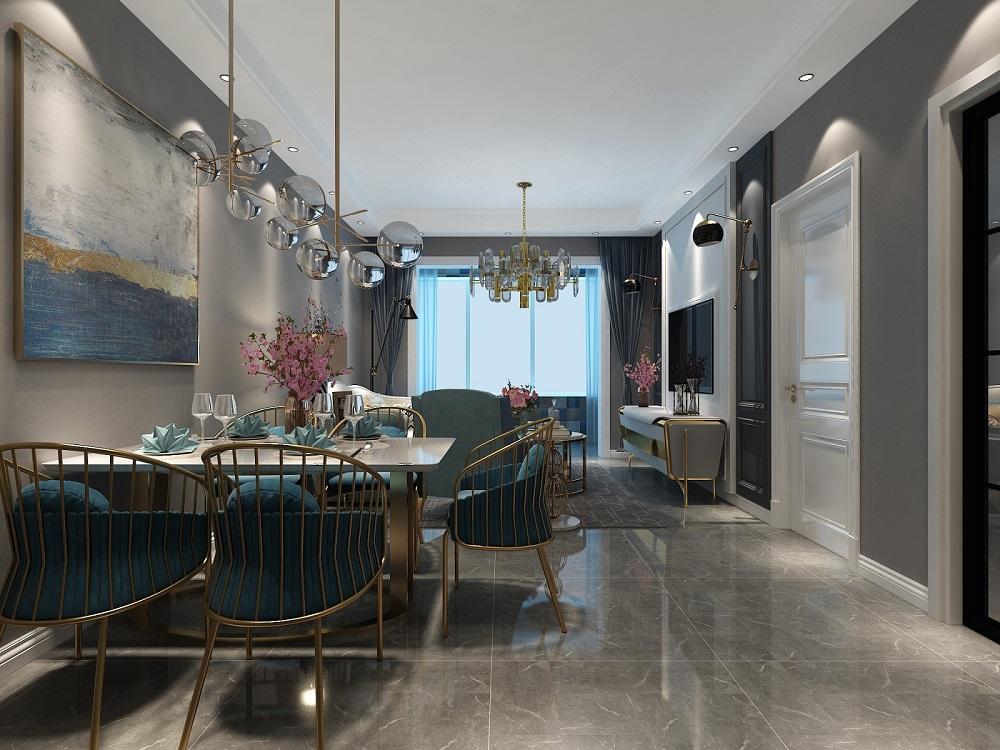 二居 美式 餐厅图片来自小薛15513285424在美式风格的分享