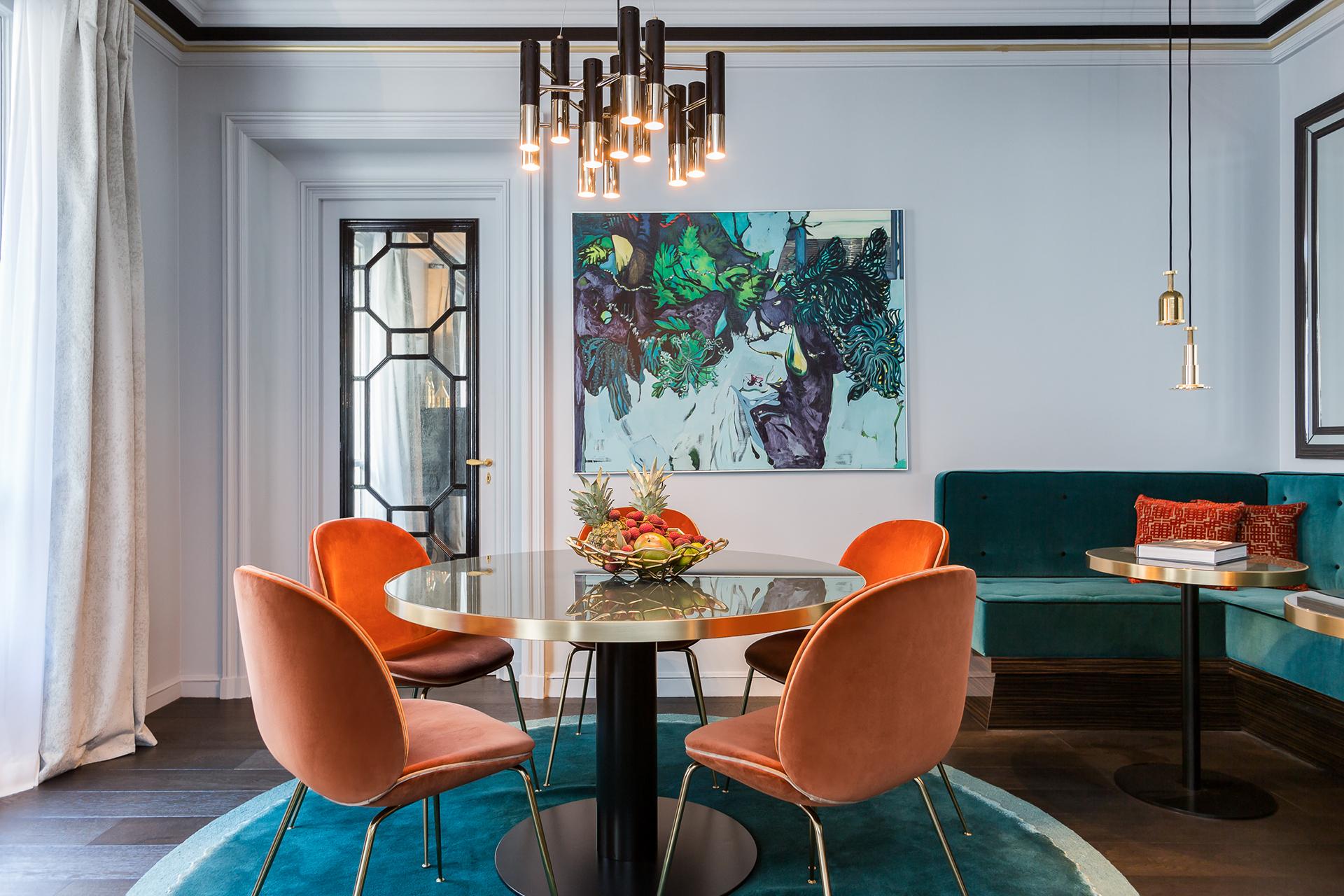 混搭 二居 白领 收纳 旧房改造 80后 小资 餐厅图片来自今朝小伟在时尚前沿大胆撞色设计-摩登之家的分享