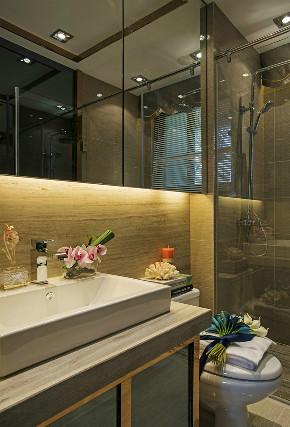欧式 二居 白领 收纳 旧房改造 80后 小资 卫生间图片来自今朝小伟在中海国际公馆欧式设计案例效果的分享