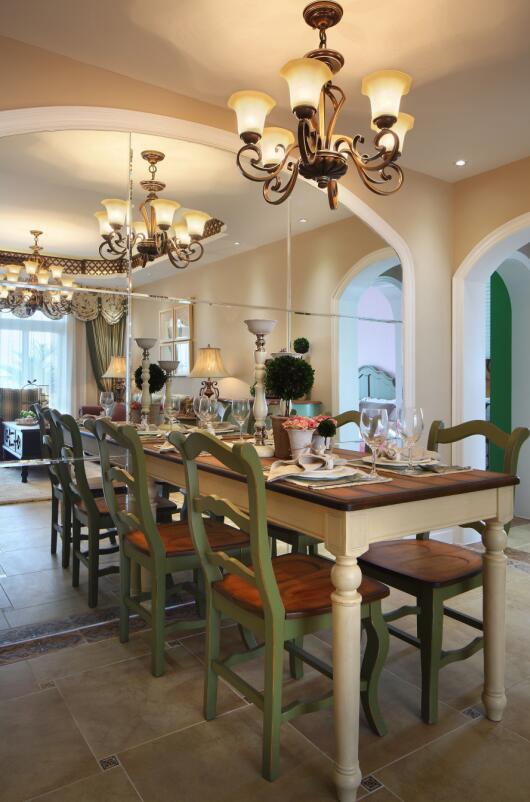 田园 二居 白领 收纳 旧房改造 80后 小资 餐厅图片来自今朝小伟在温馨甜美的田园风格案例的分享