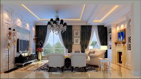 欧式 白领 收纳 旧房改造 小资 80后 客厅图片来自今朝小伟在四居室现代简约欧式风格装修美图的分享