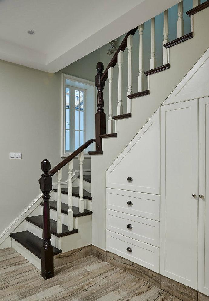 混搭 二居 白领 收纳 旧房改造 小资 80后 楼梯图片来自今朝小伟在法式混搭风家居的分享