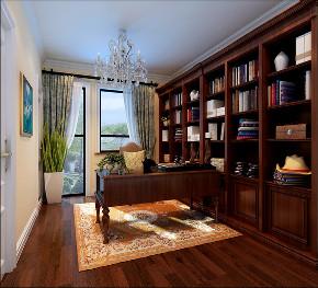 欧式 白领 收纳 旧房改造 小资 80后 书房图片来自今朝小伟在四居室现代简约欧式风格装修美图的分享
