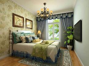 田园 二居 白领 收纳 旧房改造 80后 小资 卧室图片来自今朝小伟在田园居的分享