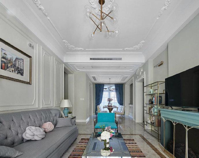 混搭 二居 白领 收纳 旧房改造 小资 80后 客厅图片来自今朝小伟在法式混搭风家居的分享