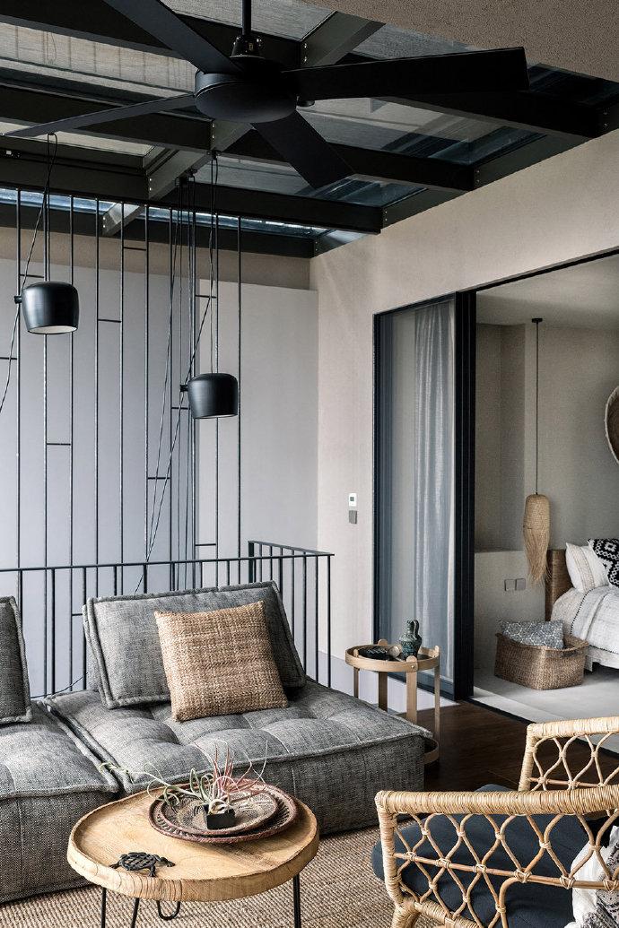 田园 白领 收纳 旧房改造 80后 小资 客厅图片来自今朝小伟在北京315平米顶层公寓-山水文园的分享