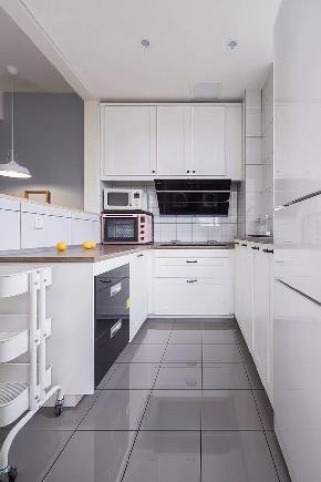 欧式 二居 白领 收纳 旧房改造 小资 80后 厨房图片来自今朝小伟在现代北欧简约之家的分享