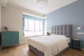欧式 二居 白领 收纳 旧房改造 小资 80后 卧室图片来自今朝小伟在现代北欧简约之家的分享