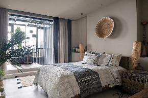 田园 白领 收纳 旧房改造 80后 小资 卧室图片来自今朝小伟在北京315平米顶层公寓-山水文园的分享