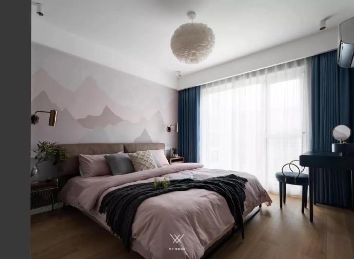 三居 收纳 白领 旧房改造 80后 小资 卧室图片来自今朝小伟在110㎡北欧三居的分享