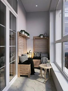 白领 收纳 旧房改造 80后 小资 简约 二居 阳台图片来自今朝小伟在阳台上的休闲时光的分享