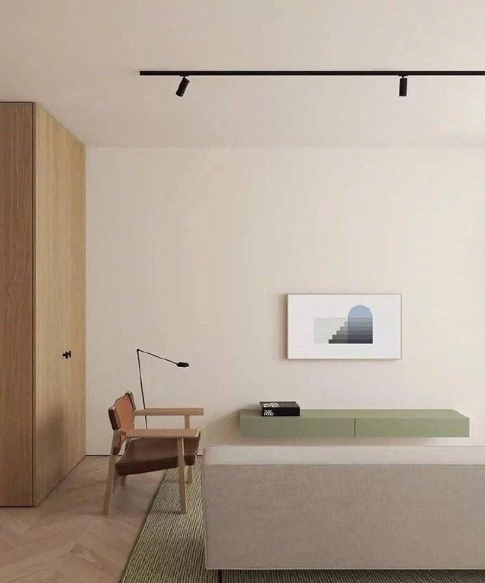 简约 白领 收纳 旧房改造 80后 小资 衣帽间图片来自今朝小伟在66平方公寓,简单却设计感十足的分享
