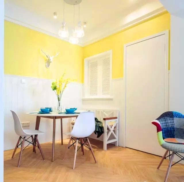 二居 混搭 白领 收纳 旧房改造 80后 小资 餐厅图片来自今朝小伟在港馨东区93平米现代混搭设计的分享