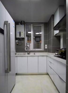 混搭 三居 白领 收纳 旧房改造 小资 80后 厨房图片来自今朝小伟在双惠小区 92平现代简欧混搭的分享