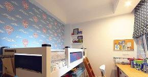 二居 白领 收纳 旧房改造 80后 小资 儿童房图片来自今朝小伟在苹果园小区89平清新北欧混搭的分享