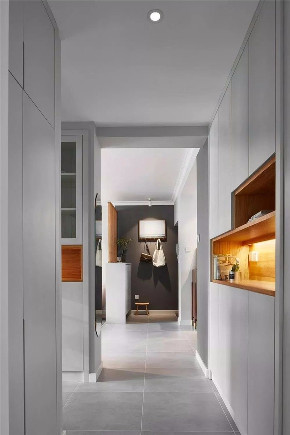 简约 二居 白领 收纳 旧房改造 小资 80后 玄关图片来自今朝小伟在南线阁现代简约风格装修效果图的分享