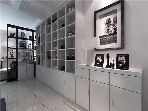 简约 二居 白领 收纳 旧房改造 80后 小资 书房图片来自今朝小伟在顺四条现代简约风格的分享
