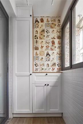 简约 二居 白领 收纳 旧房改造 小资 80后 阳台图片来自今朝小伟在南线阁现代简约风格装修效果图的分享