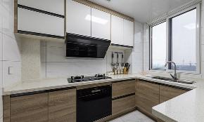 混搭 二居 白领 收纳 旧房改造 80后 厨房图片来自今朝小伟在一眼就爱上 89平时尚北欧混搭家的分享