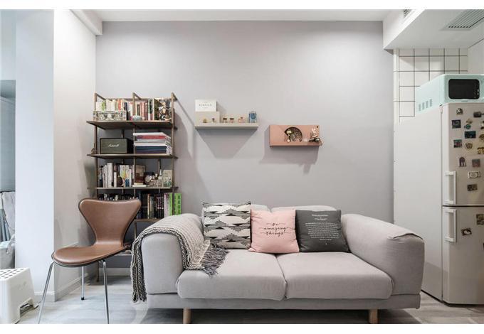 二居 白领 收纳 旧房改造 80后 小资 客厅图片来自今朝小伟在格兰晴天北欧风格的分享