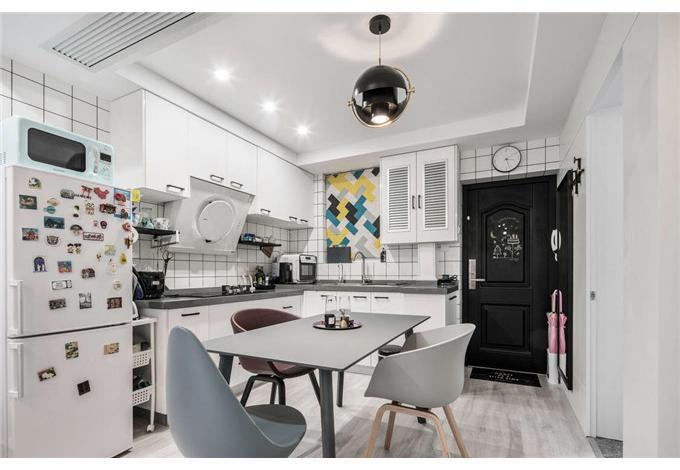 二居 白领 收纳 旧房改造 80后 小资 厨房图片来自今朝小伟在格兰晴天北欧风格的分享