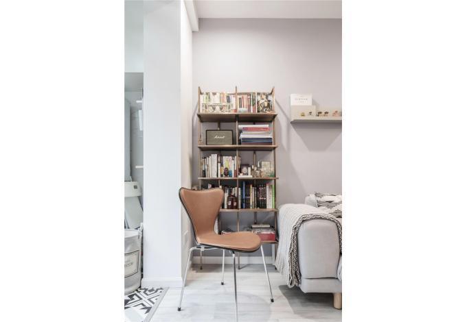 二居 白领 收纳 旧房改造 80后 小资 书房图片来自今朝小伟在格兰晴天北欧风格的分享