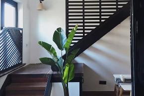 二居 白领 旧房改造 80后 收纳 小资 楼梯图片来自今朝小伟在清新北欧风,慢饮茶滋味的分享