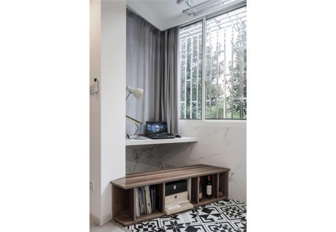 二居 白领 收纳 旧房改造 80后 小资 阳台图片来自今朝小伟在格兰晴天北欧风格的分享