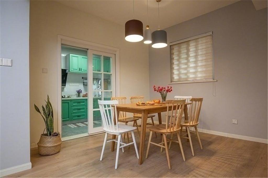 混搭 二居 白领 收纳 旧房改造 小资 80后 餐厅图片来自今朝小伟在日式简约混搭家居设计的分享