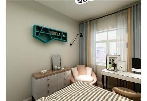 混搭 二居 白领 收纳 旧房改造 80后 小资 卧室图片来自今朝小伟在双惠苑多彩的自由生活混搭风格的分享