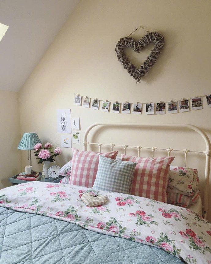 二居 田园 三居 别墅 白领 收纳 旧房改造 80后 小资 卧室图片来自今朝小伟在唯美田园风设计的分享