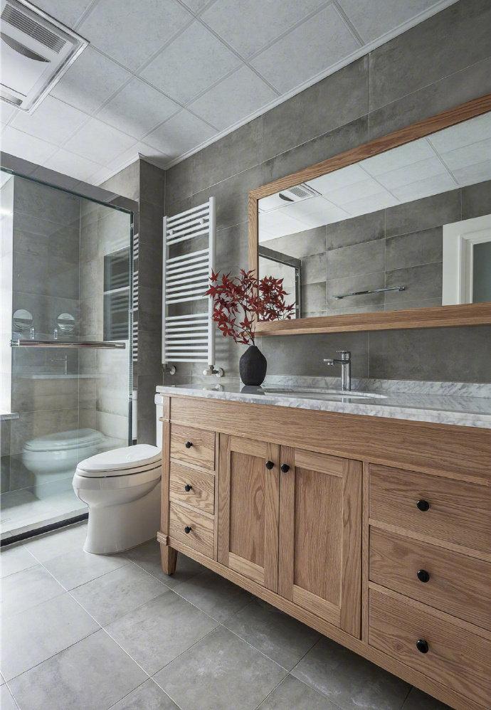 混搭 二居 白领 收纳 旧房改造 80后 小资 卫生间图片来自今朝小伟在北欧与美式混搭装修的分享