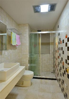 二居 简约 别墅 白领 收纳 旧房改造 小资 80后 卫生间图片来自今朝小伟在120㎡ 现代简约两居的分享