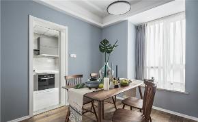 混搭 二居 白领 收纳 旧房改造 80后 小资 餐厅图片来自今朝小伟在北欧与美式混搭装修的分享